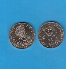 Essai 10 Francs en Cupro-Nickel-Alu  200 ans 1er Vol  1983 Tranche a