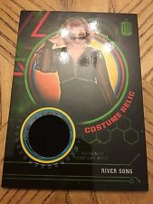 Topps Doctor Who Extraterrestrial 2016 Green Costume 002/499 River Songs Dress