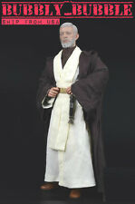 1/6 STAR WARS Jedi Knight Obi-Wan Kenobi Clothing Lightsaber Set A USA  IN STOCK