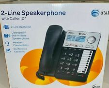 AT&T ML17929 1 or  2 Lines Corded LANDLINE  Phone  - SPEAKER and MORE !