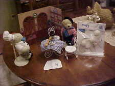 LOT MUFFY VANDERBEAR & HOPPY PARIS BISTROT LE LAPIN ROTUND TABLE & CHAIRS + MORE