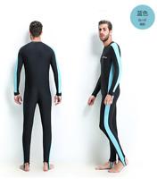 Scuba Snorkeling Lycra Skin diving Suit Full Bodysuit 50+ UV Protection Swimsuit