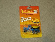 Matchbox MB19 Peterbilt Cement Truck Blue MOC 1986