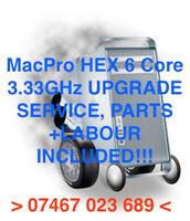 Mac Pro 4.1 5.1 Intel Xeon 6 Hex Core 3.33GHz Processor Upgrade Service 2009/13