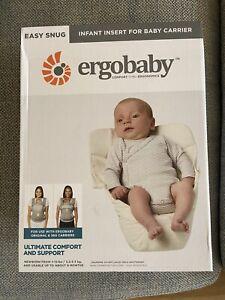 BNIB Ergobaby Infant Insert Cream