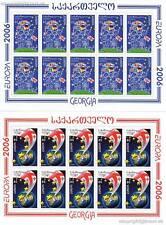 EUROPA CEPT 2006 INTEGRATION - GEORGIEN GEORGIA 515-16 A KLEINBOGEN **