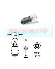 LUCAS LLB281 12V VOLT 2W MCC BA7S DASHBOARD WARNING LAMP GAUGE LIGHT BULB