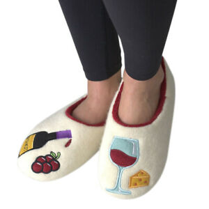 Pinot Time Women's Indoor Slippers, Small (5/6)