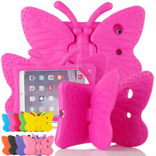For iPad 8th 7th 234 56th Gen Air 2 1 Pro 9.7 Mini Kids Butterfly Foam Cute Case