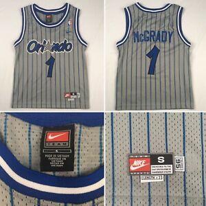 TRACY MCGRADY 1995 rewind #1 jersey ORLANDO MAGIC Nike Team Youth SMALL +2 boys