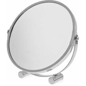 Bathroom Mirror Free Standing Round Swivel Adjustable Bullet Shaving Blue Canyon