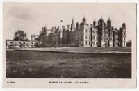 Burghley House Stamford Lincolnshire Vintage RP Postcard  775b