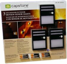 Capstone Lighting 3 LED indoor/ Outdoor Motion Sensor Lights w/ Batteries
