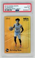 Ja Morant 2019 Panini Hoops Arriving Now Holo RC #12 PSA Gem Mint 10