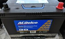 ACDELCO BATTERY S95D31LHD SUITS MOST 4WD APPLICATIONS PATROL HILUX NAVARA
