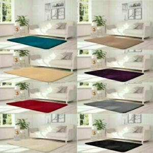 Soft Velvet Touch Rug / Non slip For Bedrooms Living Rooms Kids Room Smooth New