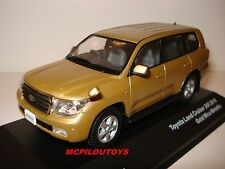 J-COLLECTION JC242 TOYOTA LAND CRUISER 200 GOLD MICA METALLIC 2010 au 1/43°