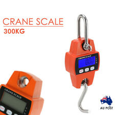 Mini Portable Crane Scale 300kg 0.1kg LCD Digital Electronic Hook Hanging DAC3