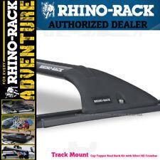 Rhino Rack Truck Topper Track Mount Rack Sports Crossbar Black Y06-550