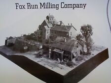 FINE SCALE MINIATURES FSM -  FOX RUN MILLING CO   #295    1:87 SCALE- HO -NOS