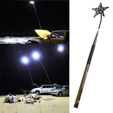 Telescopic Fishing Rod Car Repair LED Lantern Camping Lamp Light+Remote Control