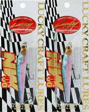 (Lot Of 2) Lucky Craft Nw Amigo 06 3/16Oz Nwamigo06-254 Ms Mj Herring H4205