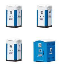 Faller H0 180543 Mobile Toilettenkabinen TOI TOI #NEU in OVP