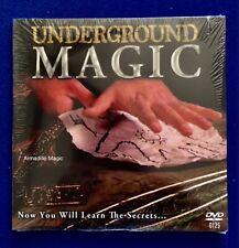 Underground Magic - Dvd - Enter The Underworld Of Tricks - Us Seller