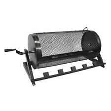 Rotating Chili Roaster Cage 5 Burner Propane Gas w/o Propane regulator CRBBQ-CR
