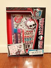 Monster High Light Up Notebook - Decorate Your Own Notebook