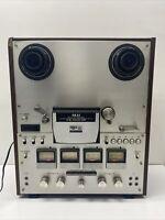 """Akai GX630D-SS Reel to Reel 10.5"""" – 1/4"""" Tape Deck 4 Channel Quadra DA92984"""