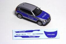 Decals 1:87 H0 Filmfahrzeug Polizei BMW X1, passend für Herpa,für Umbau/Eigenbau
