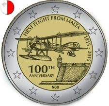 Commémorative de Malte 2015, 100ème anniversaire du 1er vol de Malte.