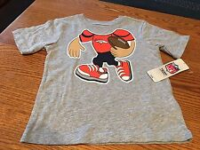Denver Broncos NFL Toddler Gray Short Sleeve Novelty Tee Shirt, Size 2T, NWT