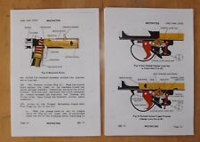 Sterling 9mm. SMG.L2A3, and L34A1.User handbook.Colour.
