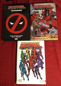Deadpool Lot Minibus Omnibus 1 2 World's Greatest Bunn Straczynski Dugan Marvel