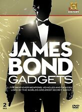 JAMES BOND GADGETS -THE MAN, WOMEN, THE TRUTH 2 DVD - FREE POST IN UK