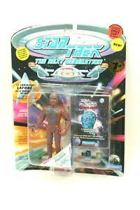 """NEW *Sealed* STAR TREK TNG Playmates 5"""" Figure LAFORGE as TARCHANNEN Caps 7th Sn"""