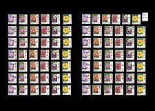 Malaysia Definitive Garden Flowers 2009 Set of 84pcs MNH (14 states)