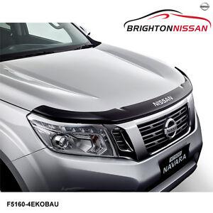 New Genuine Nissan Navara NP300 Bonnet Protector-Smoked F51604KE0BAU RRP $103