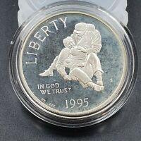 1994 S $1 CIVIL WAR BATTLE US UNITED STATES Commemorative Proof Silver Dollar