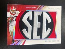 Nick Chubb 2020 Immaculate SEC Jumbo Patch Relic #1/1 Georgia Bulldogs T=