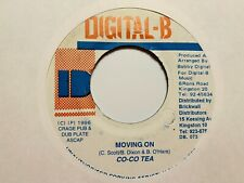 "Cocoa Tea ""Moving On"" and ""Moving On Version"" 1996 Digital-B Records Reggae"