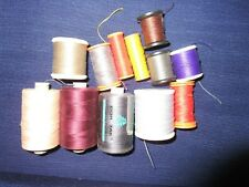ASSORTED    COLOURS & SEWING & BUTTON THREADS   Cotton, POLY ,Gutermann  Coates