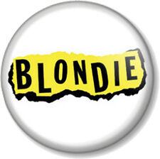 BLONDIE LOGO 3 25mm Pin Button Badge Logo Punk Rock Pop Band Atomic Debbie Harry