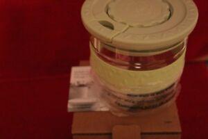 L 3304 Princess House Fantasia Green Dry Food Storage Container 1.5 Qt NIB RET