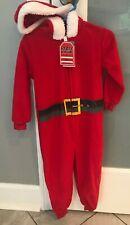Holiday #FamJams Pajamas  Size 2T Santa Hooded