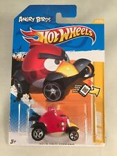 Hot Wheels 2012 New Models Angry Birds Red Bird