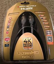 Monster 4K HDR Ultra HD Gold 60Hz 21.0Gbps 4ft HDMI Cable