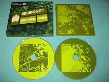 Ministry of Sound Sessions Mixed By Josh Wink 2 CD Album Dance Techno